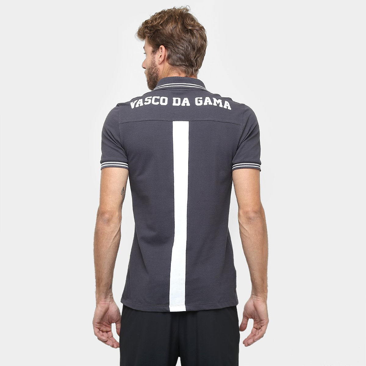 5e7a377ea4 Camisa Polo Vasco Umbro Viagem 2016 Masculina - Compre Agora