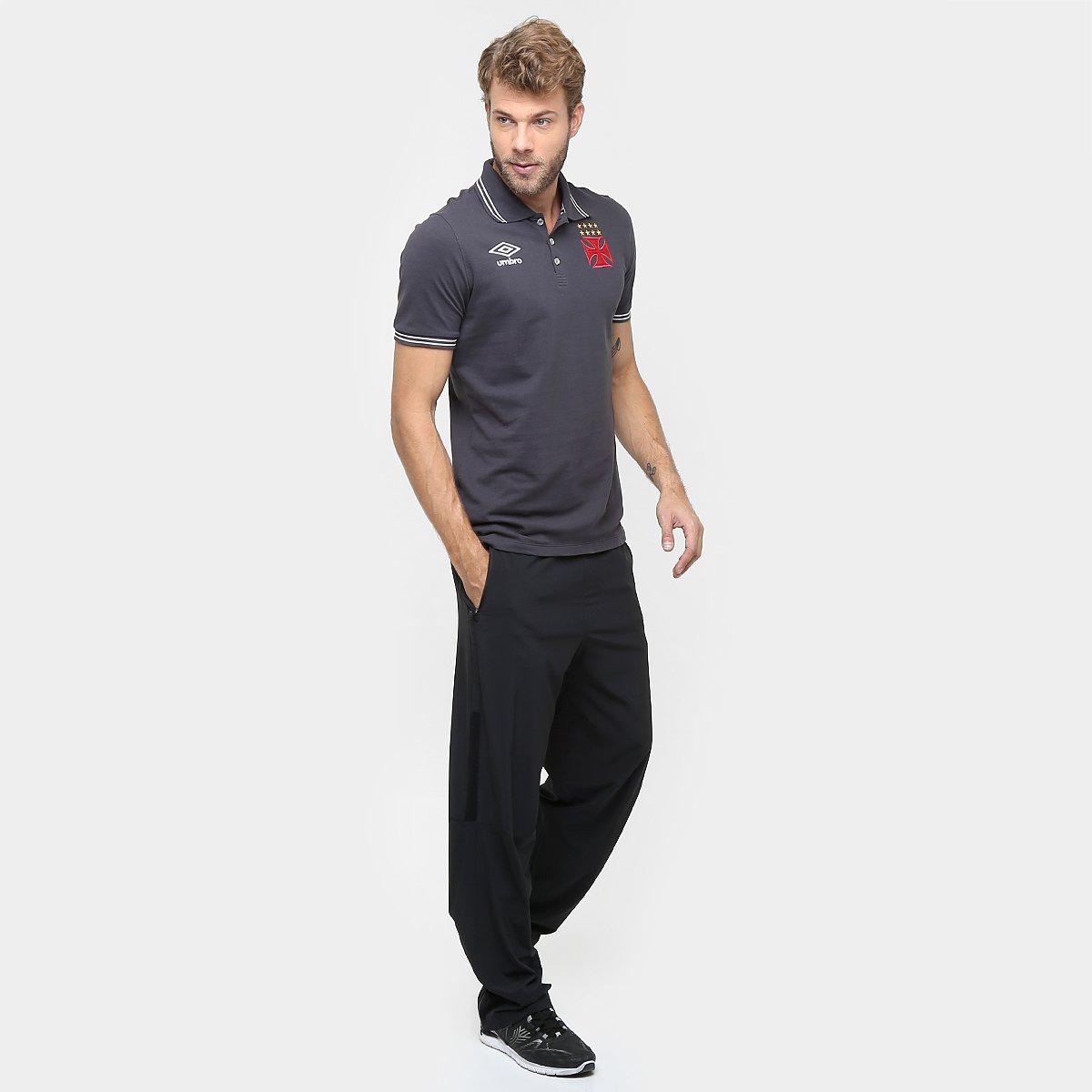 f6e167b62d Camisa Polo Vasco Umbro Viagem 2016 Masculina - Compre Agora