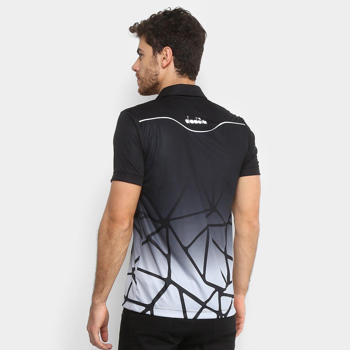 0ad4c791d0 Camisa Polo Vasco Viagem 2018 Atleta Diadora Masculina - Compre ...