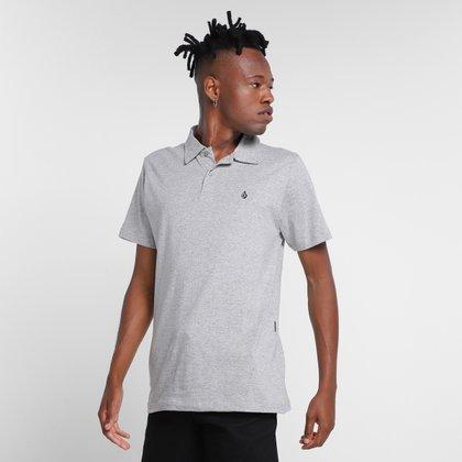 Camisa Polo Volcom Corporate Masculina