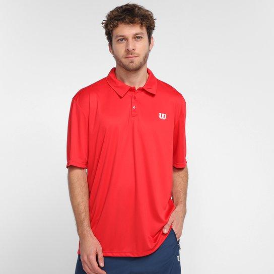 Camisa Polo Wilson Core Masculina - Vermelho