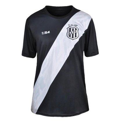 Camisa Ponte Preta 2021 Supporter Preta Oficial