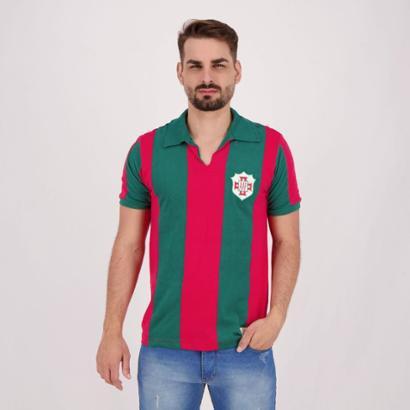 Camisa Portuguesa Santista Retrô 1959 Fita Masculina - Masculino
