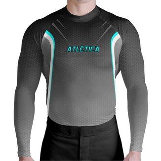 Camisa Prot UV Moto Black Fusion Atlética Esportes