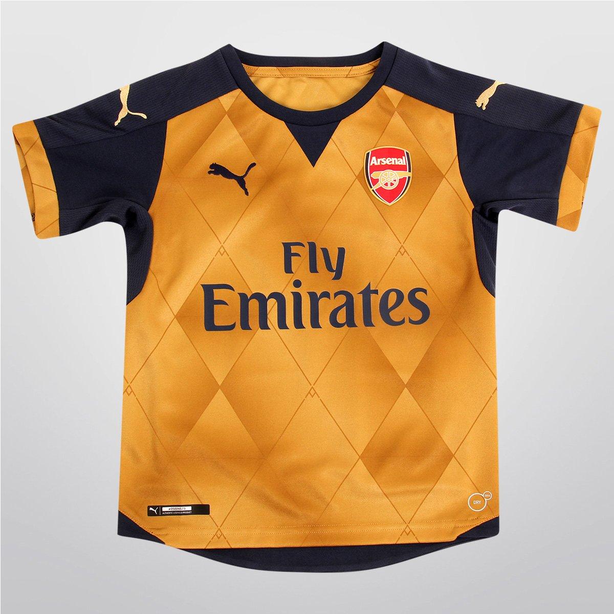 410bba0140097 Camisa Puma Arsenal Away 15 16 s nº Juvenil - Compre Agora