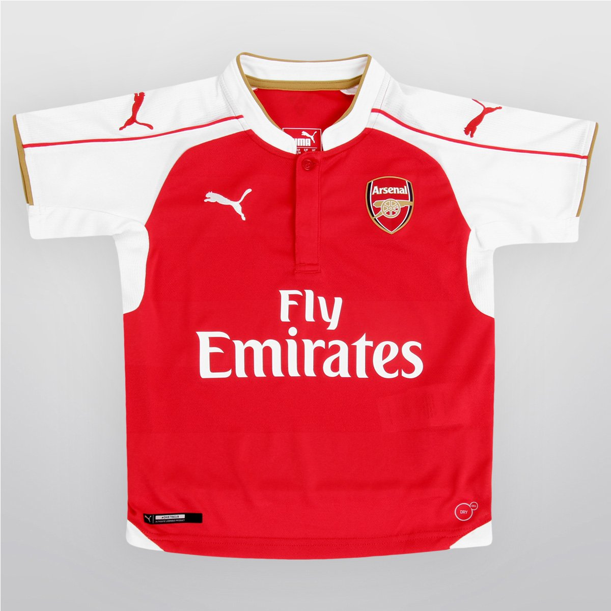 391503b78b682 Camisa Puma Arsenal Home 15 16 s nº Juvenil - Compre Agora