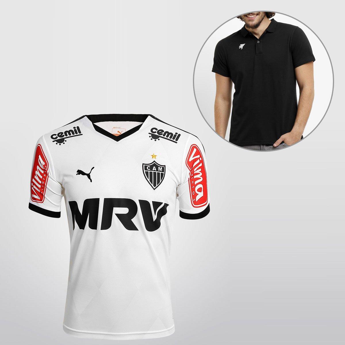 2d5d0aa70c Camisa Puma Atlético Mineiro II 2015 s nº + Camisa Polo Joma - Compre Agora