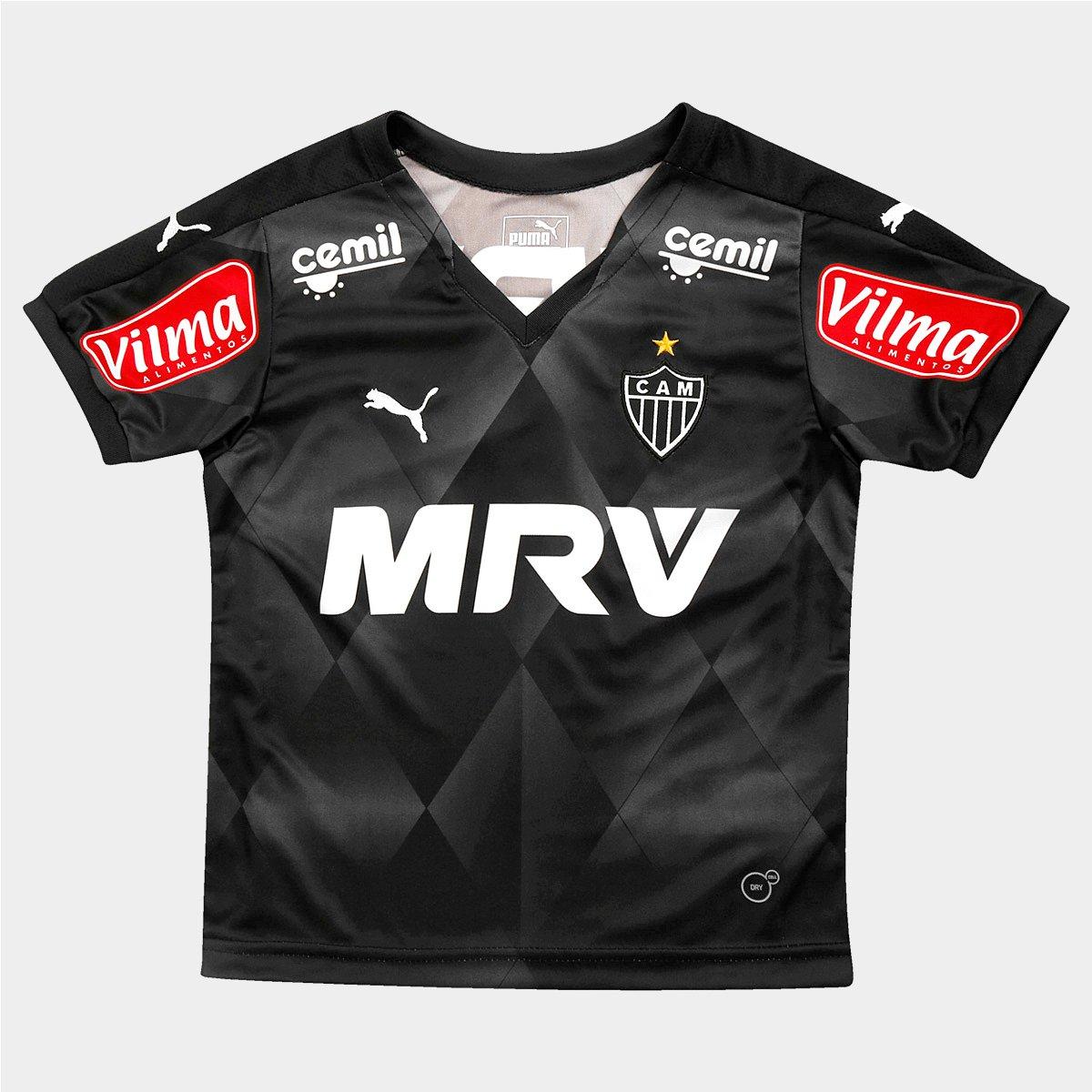 Camisa Puma Atlético Mineiro III 2015 s nº Juvenil - Compre Agora ... 482950a5a631d