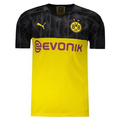 Camisa Puma Borussia Dortmund 2020 Cup Masculina