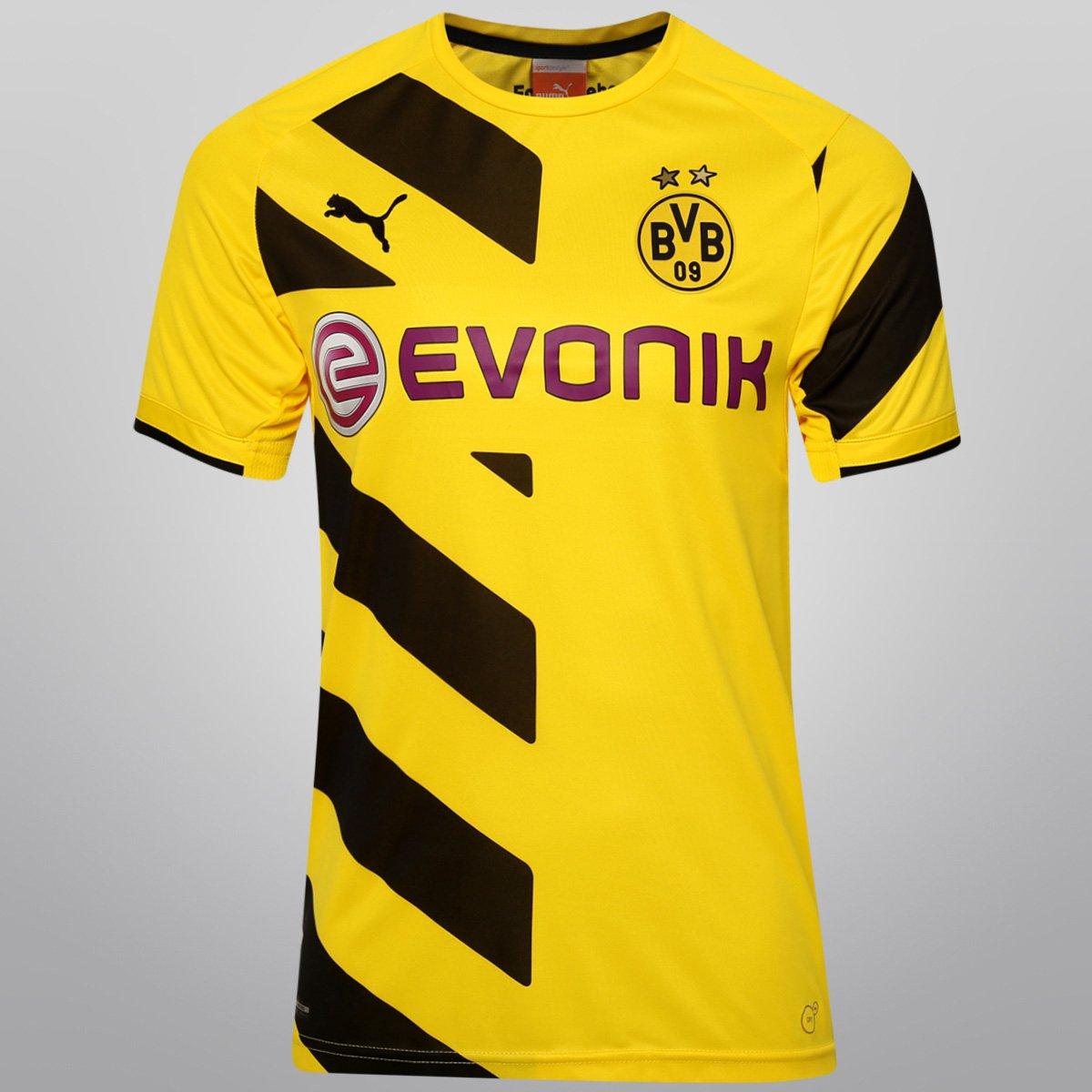 38685ed4c5 Camisa Puma Borussia Dortmund Home 14 15 s nº - Compre Agora