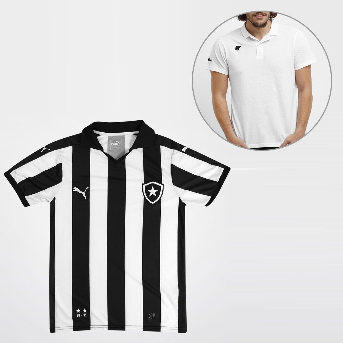 a71f0ed554ced Camisa Puma Botafogo I 15 16 s nº + Camisa Polo Joma - Compre Agora ...
