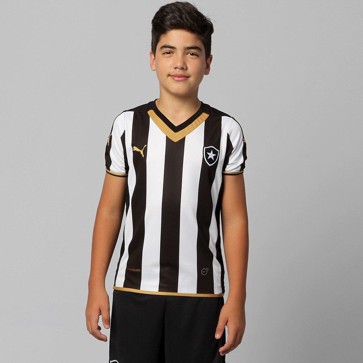 Camisa Puma Botafogo I 2014 s nº Infantil - Compre Agora  52f5bb880feee