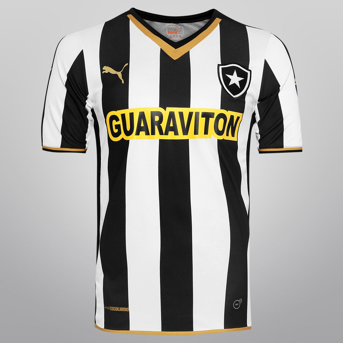 Camisa Puma Botafogo I 2014 s nº - Torcedor - Compre Agora  b4cc9212f38d8