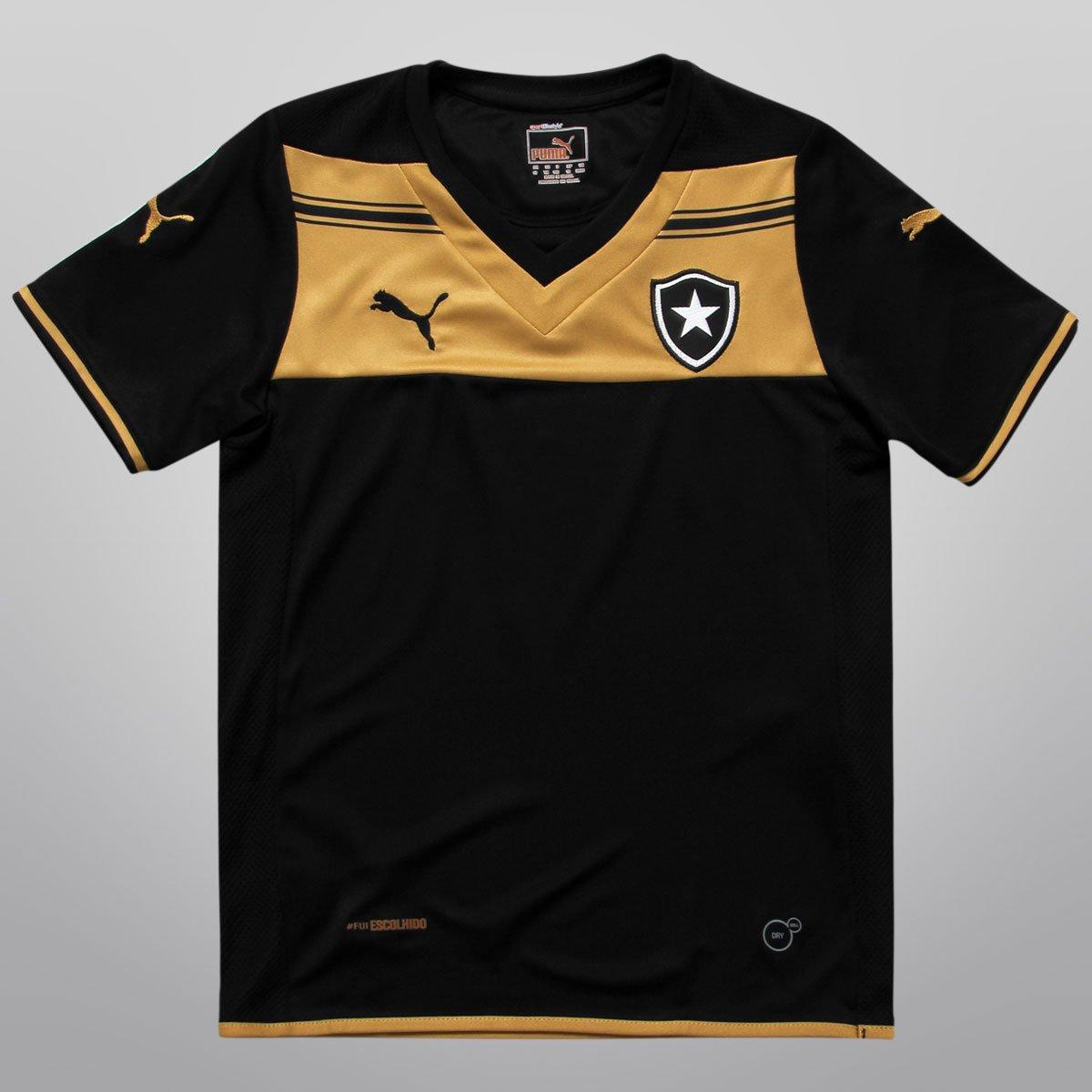 7110ee5cd0635 Camisa Puma Botafogo II 2014 s nº Infantil - Compre Agora