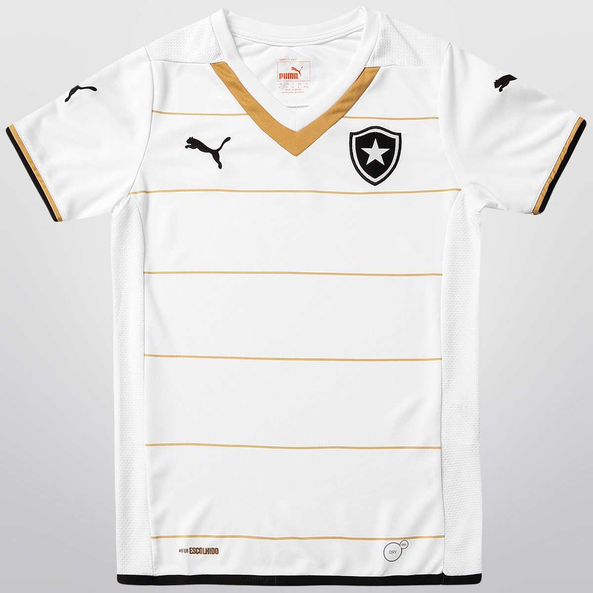 e8c5feba64 Camisa Puma Botafogo III 2014 s nº Infantil - Compre Agora