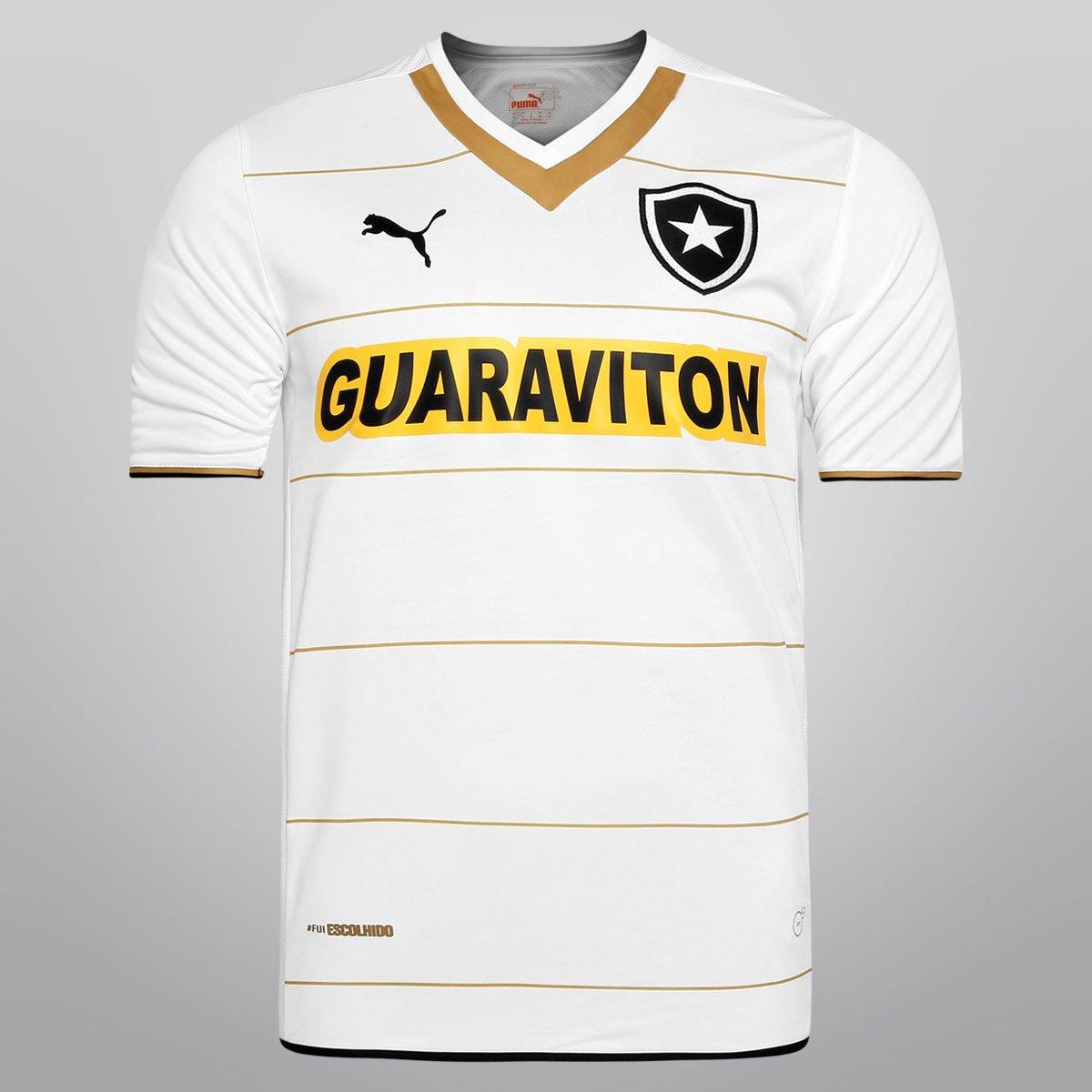 Camisa Puma Botafogo III 2014 s nº - Compre Agora  6f0fc3106c579