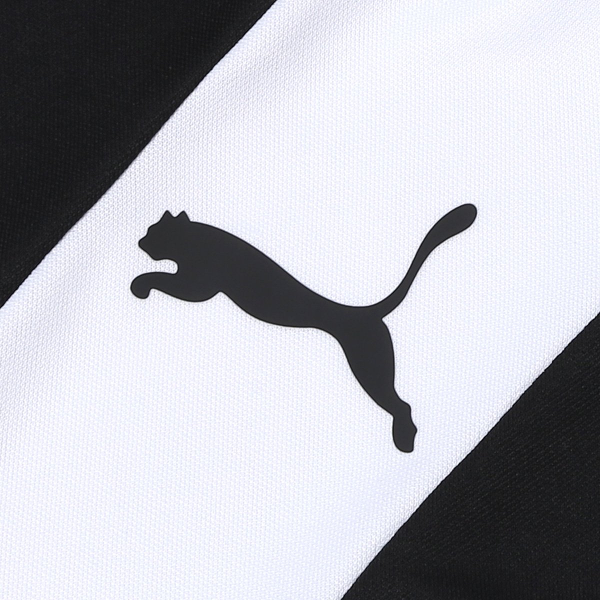 Camisa Puma BR Entry Training Jersey Masculina - Branco e Preto ... 956c4346cf846