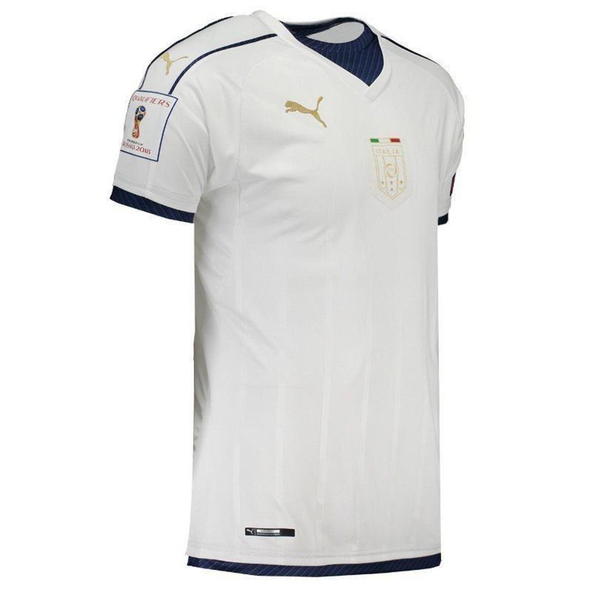 a8c22da441 ... Camisa Puma Itália Away 2017 Tributo Eliminatórias 2018 Masculina ...