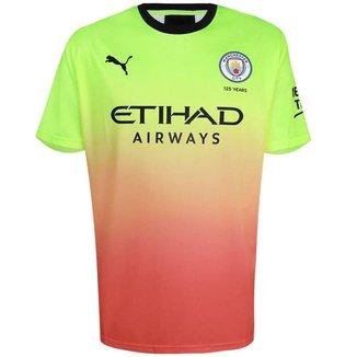 Camisa Puma Masculina Manchester City FC Third