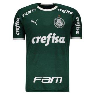 Camisa Puma Palmeiras I 2019 Com Patrocínio Masculina