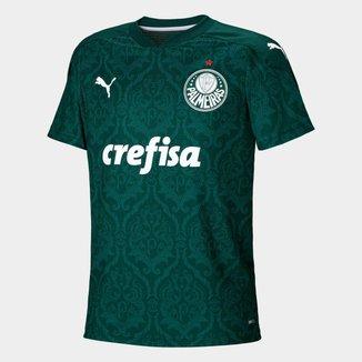 Camisa Puma Palmeiras Infantil I 20/21 Masculina