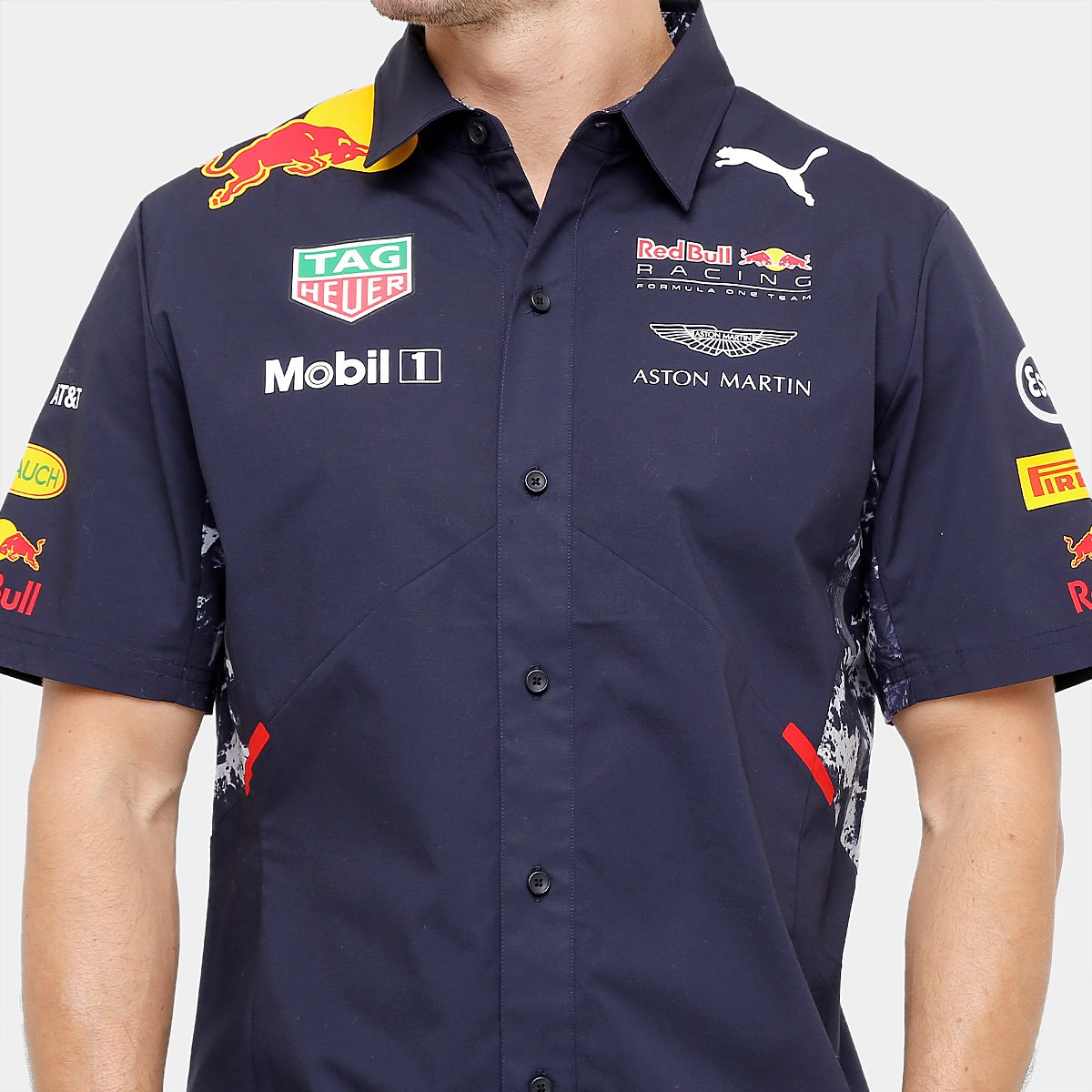 Camisa Puma Red Bull Racing Team Masculina - Compre Agora  25cf41e24ed