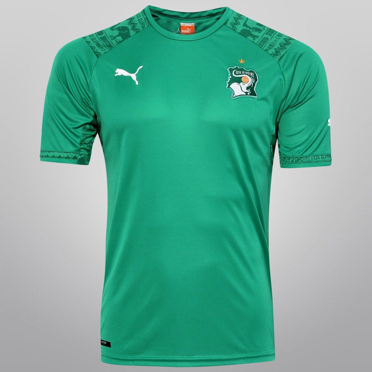 Camisa Puma Seleção Costa do Marfim Away 2014 s nº - Compre Agora ... fd1d71916042b