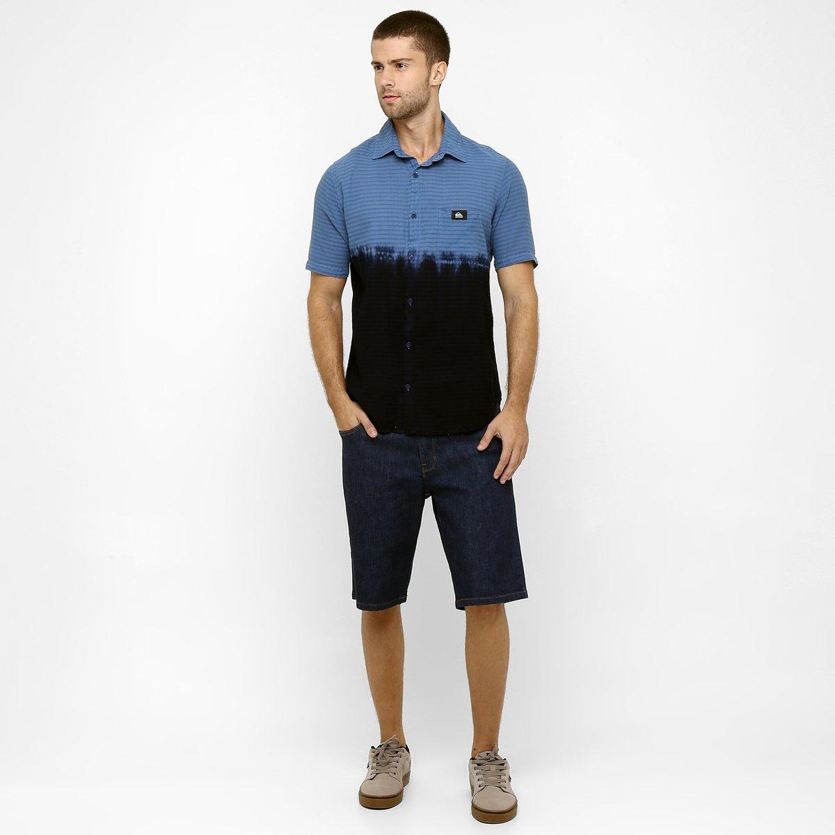 f80a6acd8f3eb ... Camisa Quiksilver Malibu - Compre Agora 7e06e08dbb6ea ...