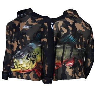 Camisa Raglan Tucunaré Savage Pesca Esportiva DryUv50 G