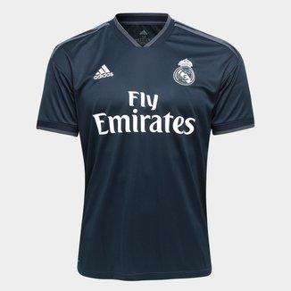 Camisa Real Madrid Away 2018 s/n° Torcedor Adidas Masculina