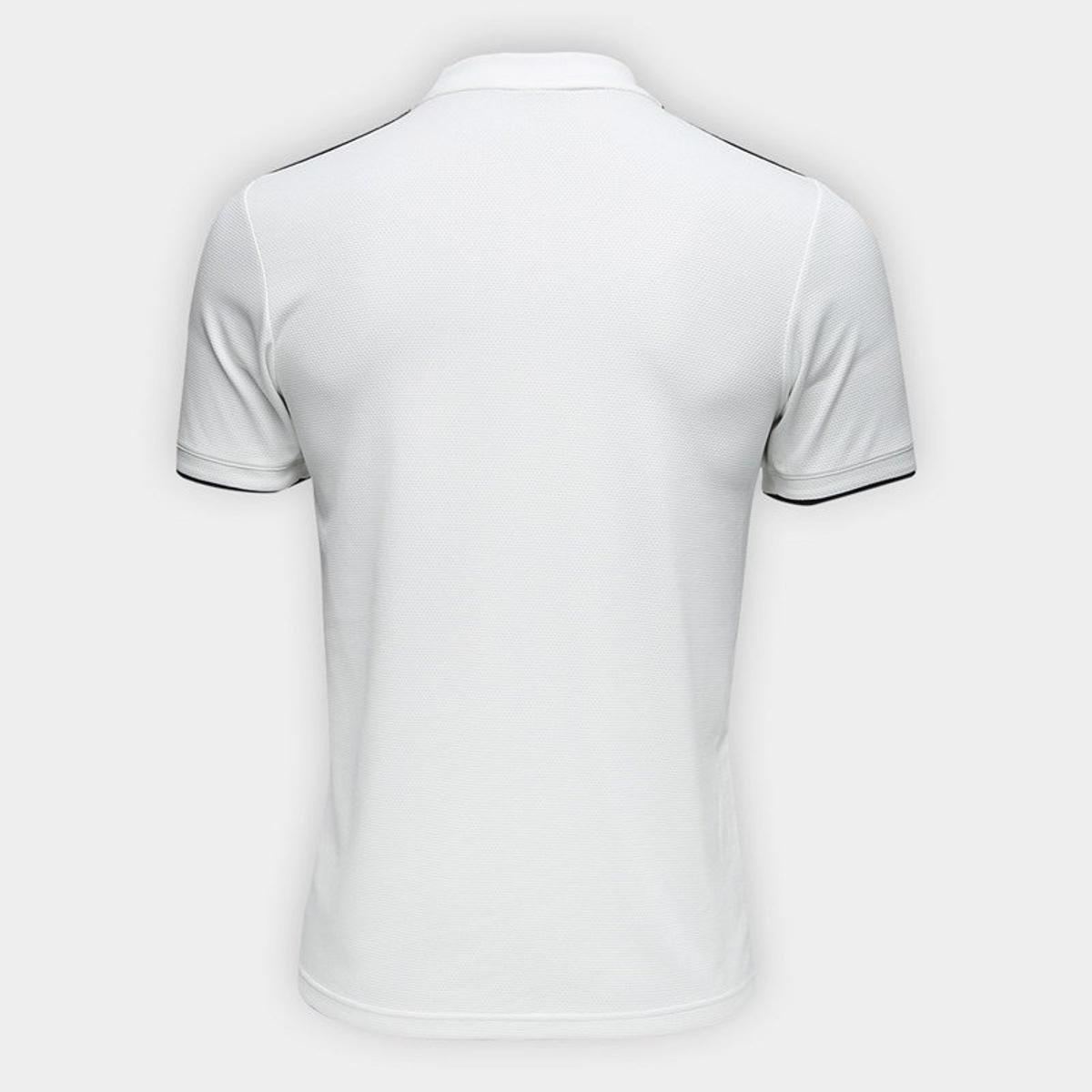 Camisa Real Madrid Home 2018 s n° Torcedor Adidas Masculina - Branco ... 0929a5f63b123