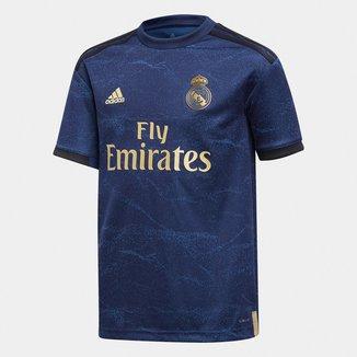 Camisa Real Madrid Infantil Away 19/20 s/n° Torcedor Adidas