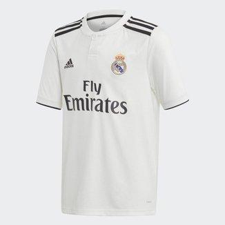 Camisa Real Madrid Infantil Home 2018 s/n° - Torcedor Adidas