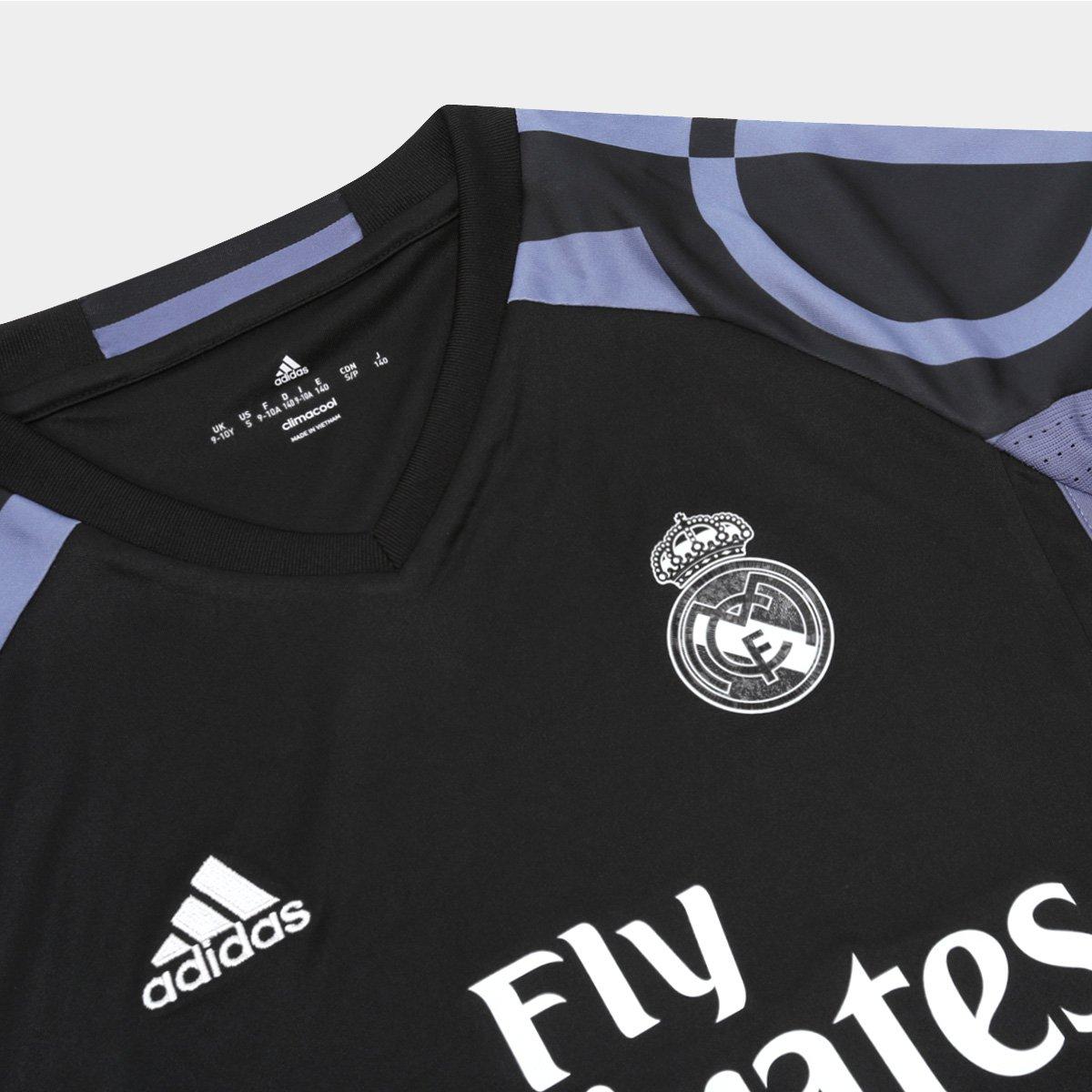 ... Preto Madrid Third Adidas Real Roxo Camisa nº 17 s Torcedor e 16  Infantil 15vxzq ... adab7da453c6f