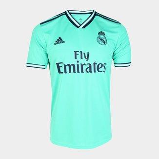 Camisa Real Madrid Third 19/20 s/nº Torcedor Adidas Masculina
