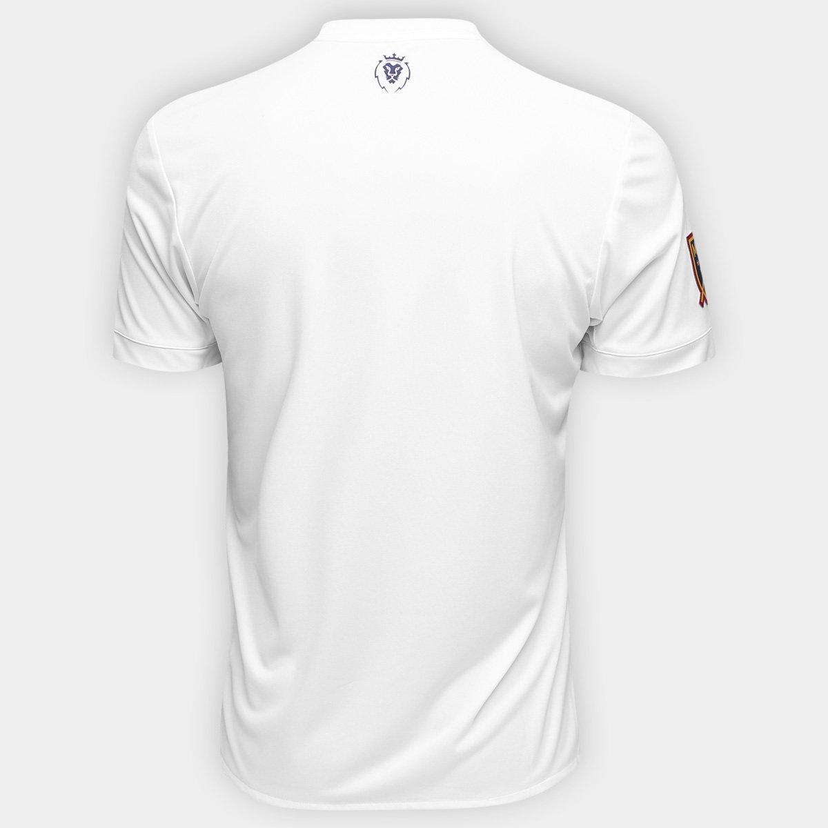 9bb899b822 ... Camisa Real Salt Lake MLS Away 17 18 s nº Torcedor Adidas Masculina ...