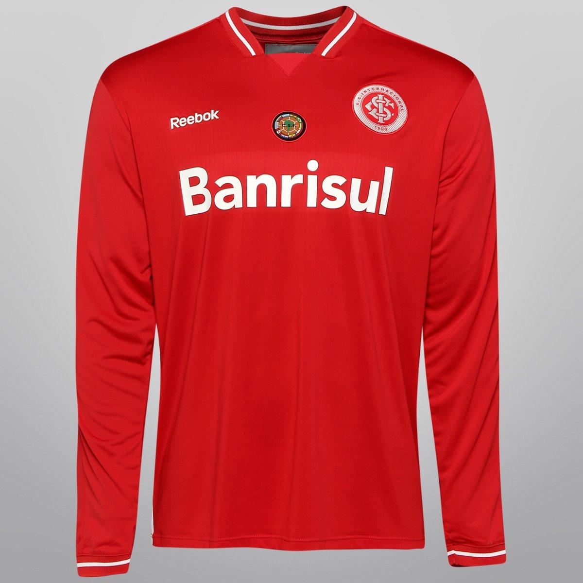 Camisa Reebok Internacional I 2011 c nº Conmebol - Compre Agora ... 623447fb1ae3b