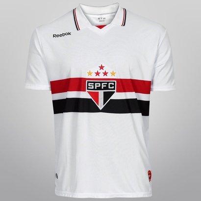 22d6bf6add04e Camisa Reebok São Paulo I 2012 s nº - Compre Agora