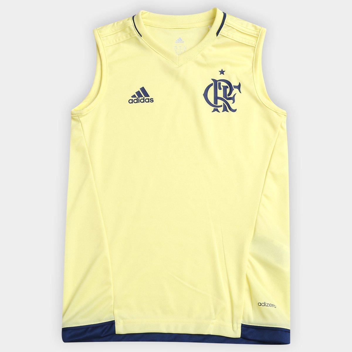 Camisa Regata Flamengo Infantil Treino Adidas - Compre Agora  3cebfa8dfd211