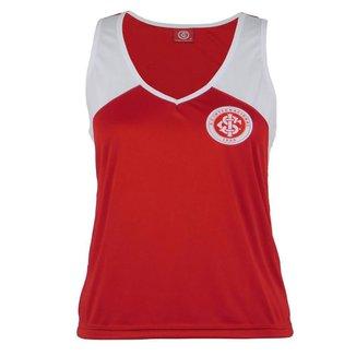 Camisa Regata Internacional FC Feminina Dia a Dia Torcedor
