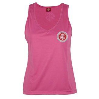 Camisa Regata Internacional FC Feminina Lisa Time Torcedor