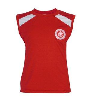 Camisa Regata Internacional FC Juvenil Time Dia a Dia