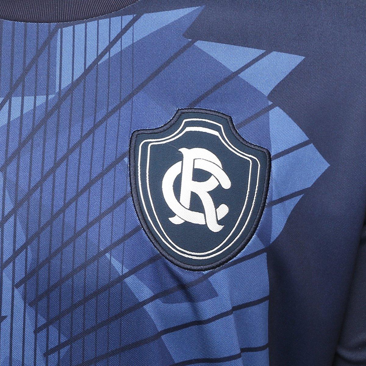 Camisa Remo Aquecimento Topper Masculina - Marinho - Compre Agora ... 5c173d7a2bba3