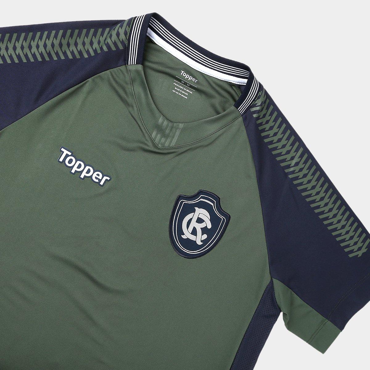 Camisa Remo Goleiro II 2018 s n° Torcedor Topper Masculina - Verde ... c49667d66b5a6