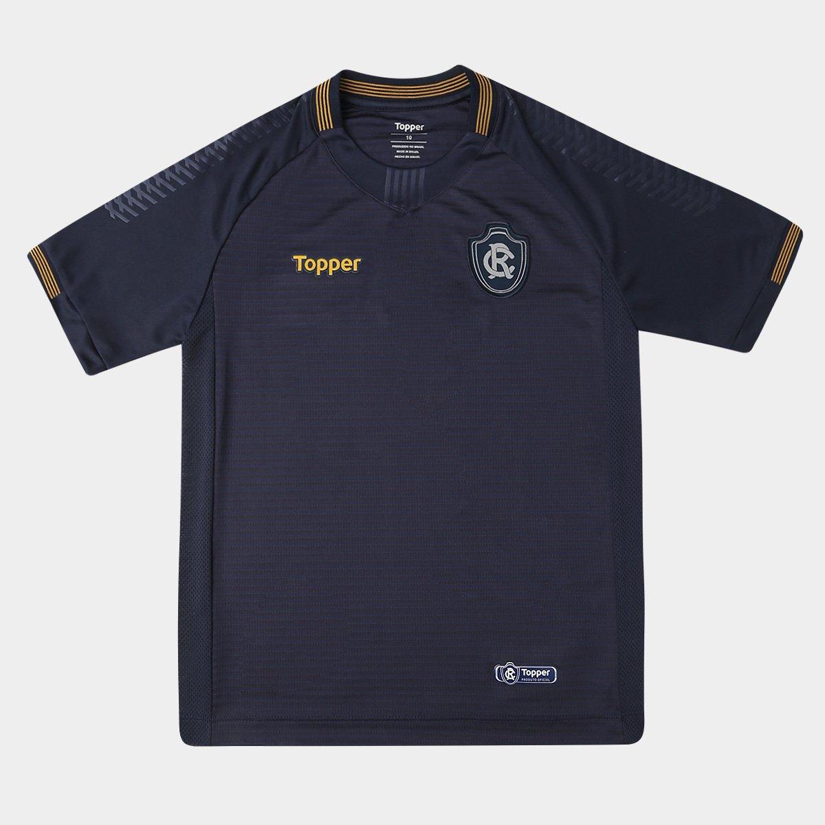 2018 n° Marinho s I Torcedor Camisa Topper Juvenil Remo RwqEy1