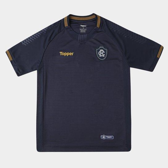 Camisa Remo I 2018 s/n° Torcedor Topper Juvenil - Marinho