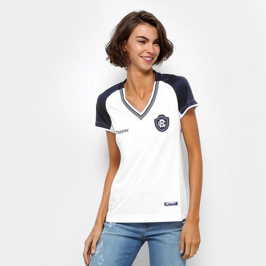 Camisa Remo II 2018 s/n° Torcedor Topper Feminina - Branco