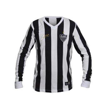 Camisa Retrô Atlético Mineiro 1983 Eder Manga Longa