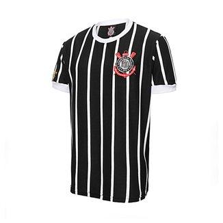 Camisa Retrô Corinthians Democracia Réplica 1982 Masculina