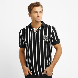 Camisa Retrô Corinthians Réplica 1915 Masculina